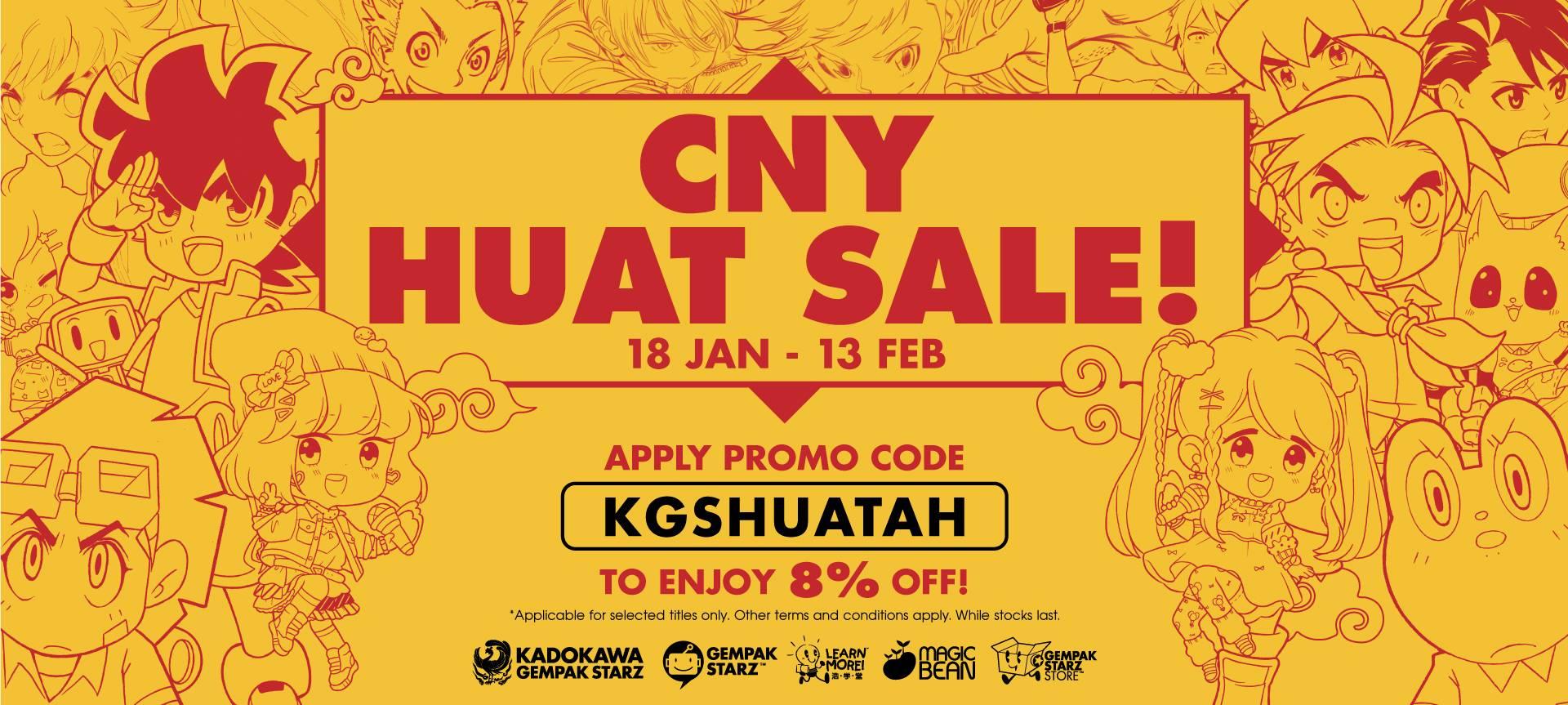 CNY 2021 Sale