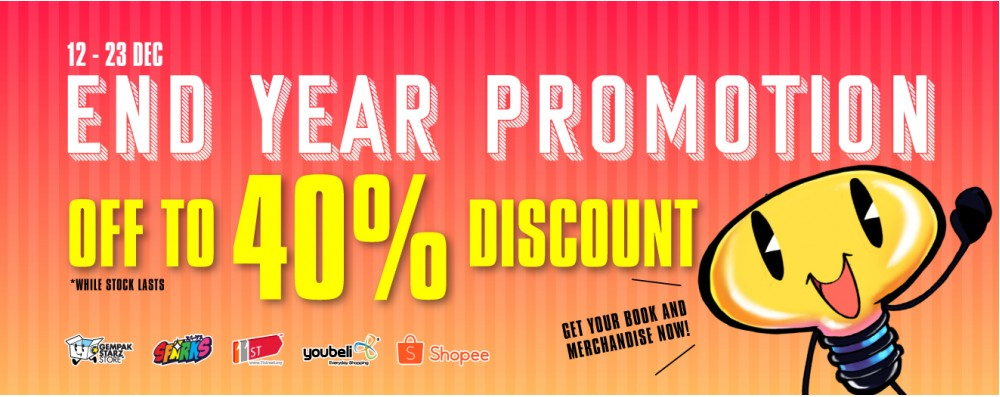 End Year Sale Promotion!