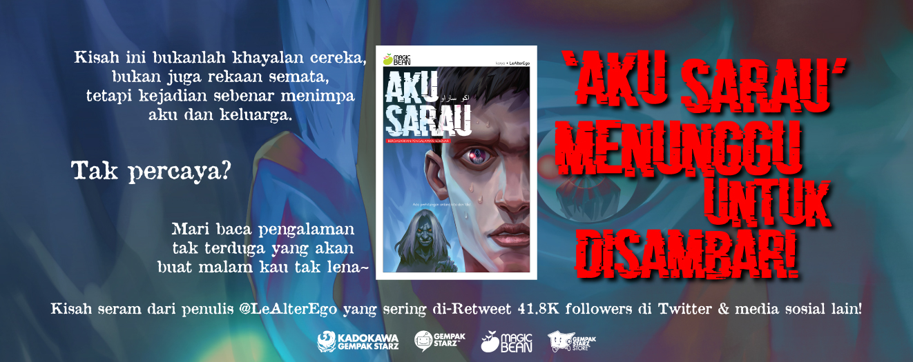 ANNOUNCEMENT: Magic Bean 'Aku Sarau'