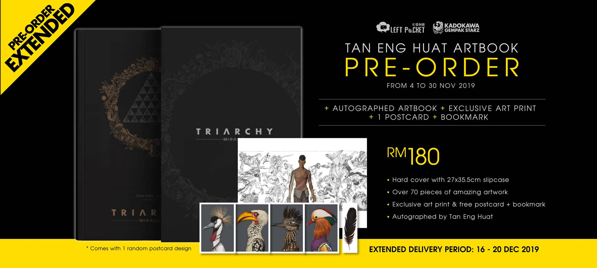 PRE-ORDER Triarchy Mirage - Extended