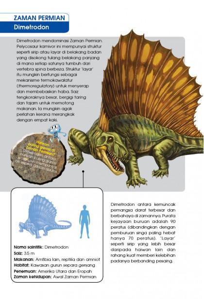 Siri X-VENTURE Dunia Dinosaur 03: Terjebak Di Zaman Permian