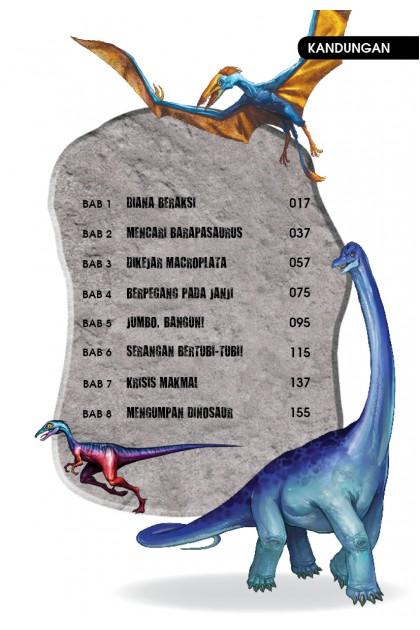 Siri X-VENTURE Dunia Dinosaur 05: Tersesat Dalam Zaman Jura