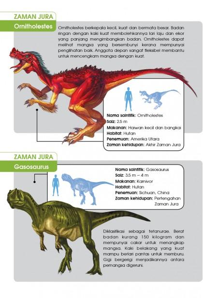 Siri X-VENTURE Dunia Dinosaur 06: Pengembaraan Zaman Jura