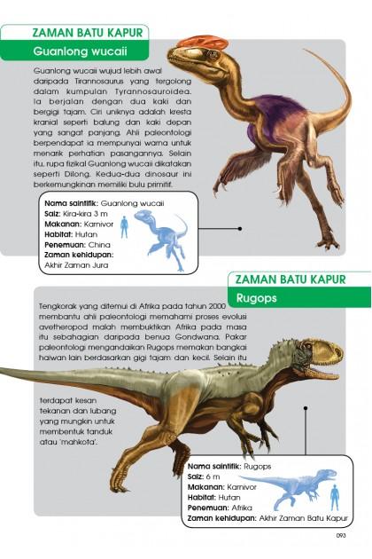 Siri X-VENTURE Dunia Dinosaur 07: Huru-hara Zaman Batu Kapur