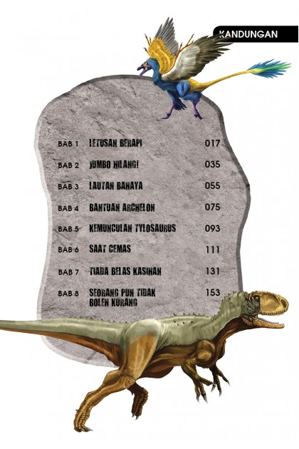Siri X-VENTURE Dunia Dinosaur 09: Raja Samudera