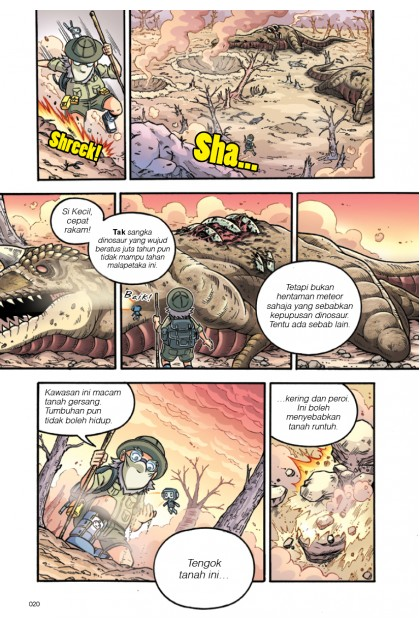 Siri X-VENTURE Dunia Dinosaur 10: Kepupusan Dinosaur