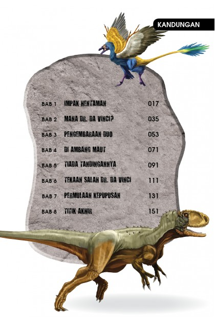 Siri X-VENTURE Dunia Dinosaur: Kepupusan Dinosaur