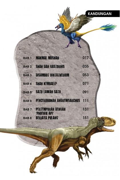 Siri X-VENTURE Dunia Dinosaur 11: Ancaman Hutan Prasejarah