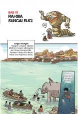 Siri X-VENTURE Era Jelajah Ulung 04: Robot Colossi Ganges