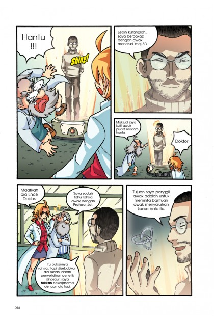Siri X-VENTURE Dunia Dinosaur II 09: Konspirasi Mutan Hibrid