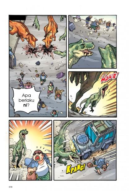 Siri X-VENTURE Dunia Dinosaur II 10: Konflik Dua Epok