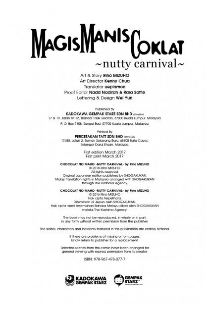Magis Manis Coklat 14: Nutty Carnival