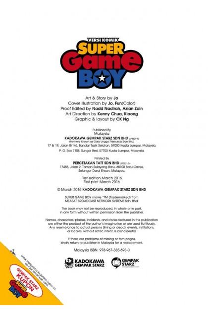 Siri Kaleidoskop 01 : Super Game Boy