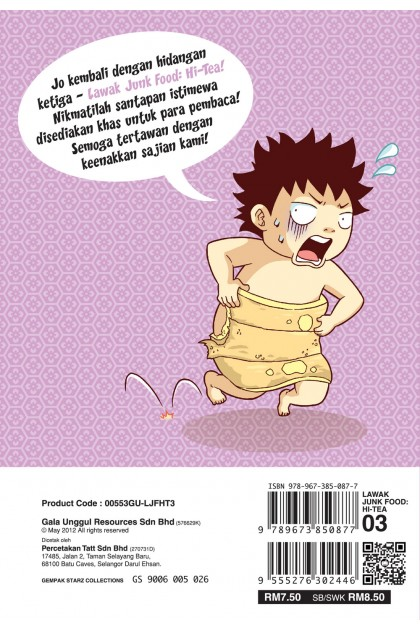 Lawak Junk Food Hi-Tea 03