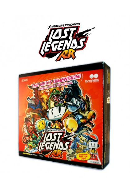 X-VENTURE XPLORERS LOST LEGENDS AR GAME CARD BOX SET