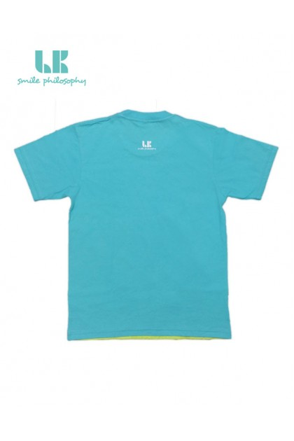 T-SHIRT FROGGY SMILE GREEN