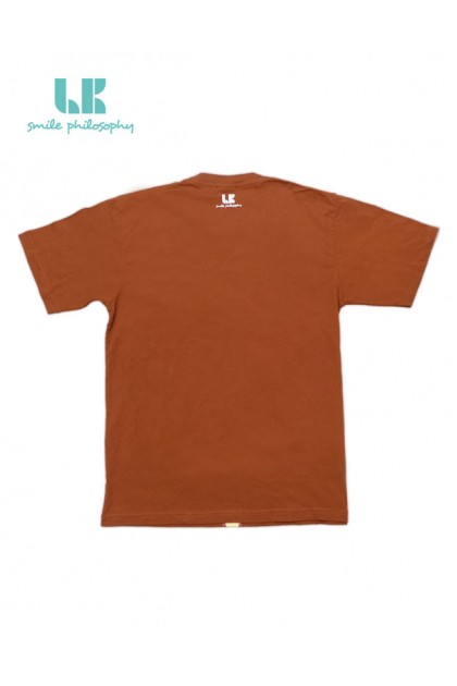 T-SHIRT VANESS SMILE BROWN