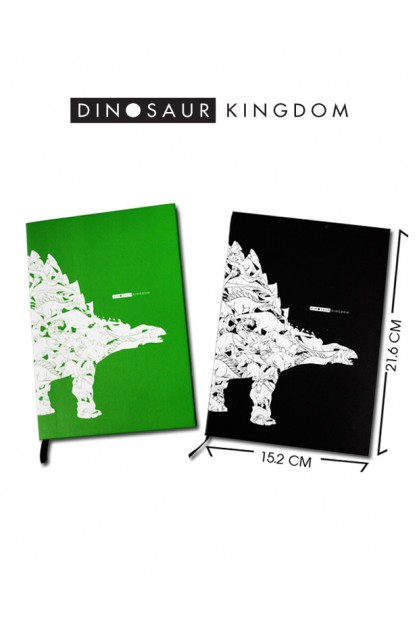 NOTEBOOK DINOSAUR KINGDOM A5
