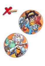 X-VENTURE 2 PCS RAIN & SEAN BADGES