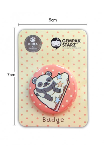 KUMA & FRIENDS BADGE