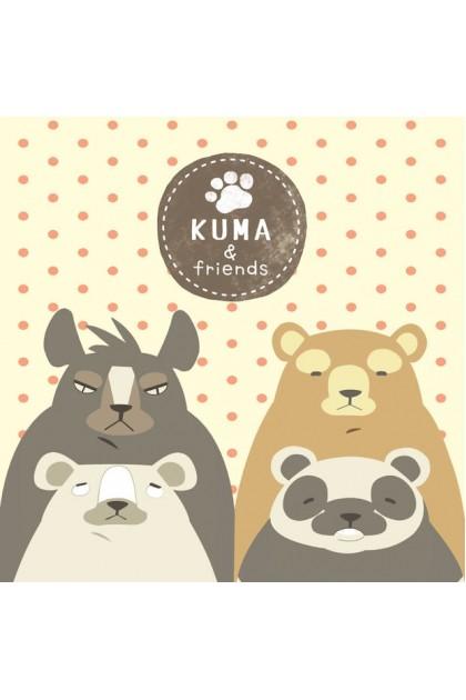 KUMA & FRIENDS  MEMO PAD