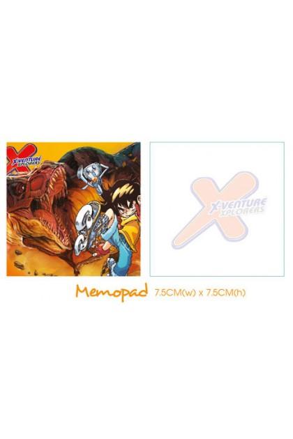 X-VENTURE MEMO PAD