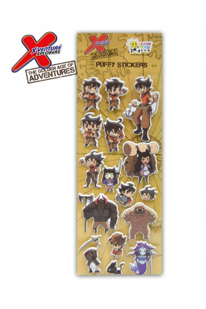 THE GOLDEN AGE OF ADVENTURE PUFFY STICKER