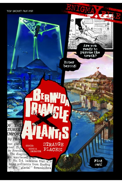 Enigma-X File 02: Bermuda Triangle X Atlantis Strange Places!