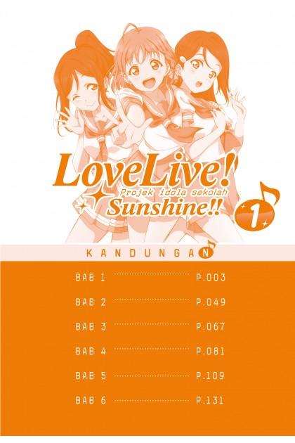 Love Live! Sunshine!! 01 (Malay)