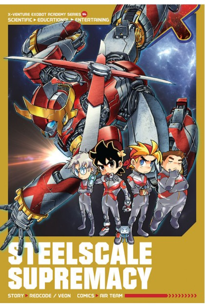 X-VENTURE Exobot Academy 04: Steelscale Supremacy