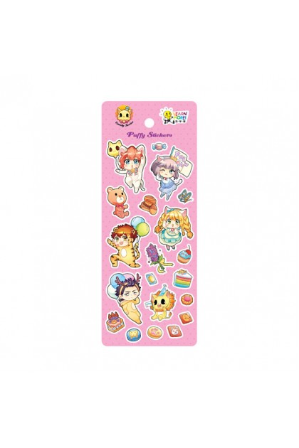 Candy Puffy Stickers