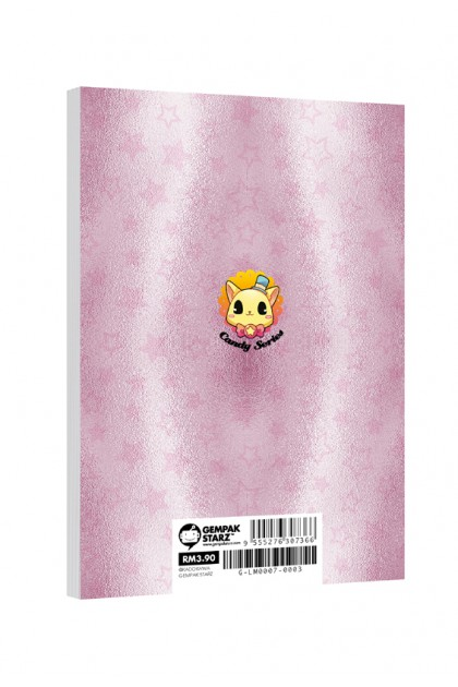 Candy Series A6 Metalised Notepad