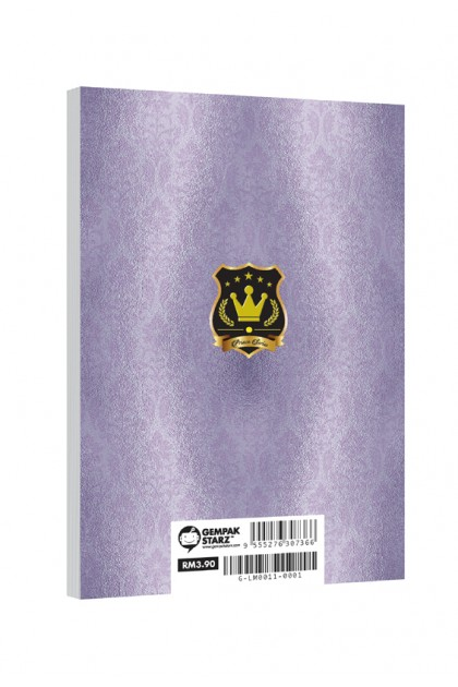Prince Series A6 Metalised Notepad