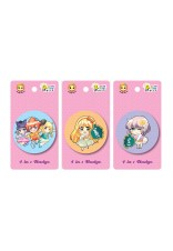 Candy 58mm - 4 in 1 Badges (3 Designs)