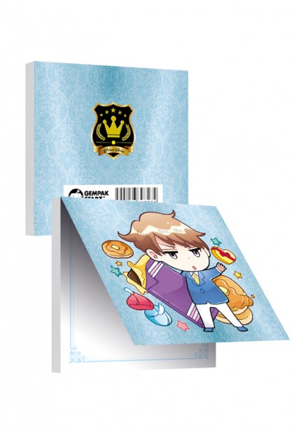 Prince Series Metalised Memopad