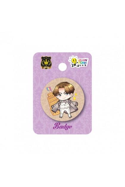 Prince Series 37mm Badges (3 Designs)