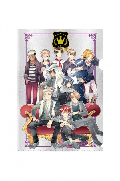 Prince Series Dear Princes Metalised PVC Folder