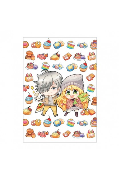 Candy X Prince Series A6 Metalised Notepad