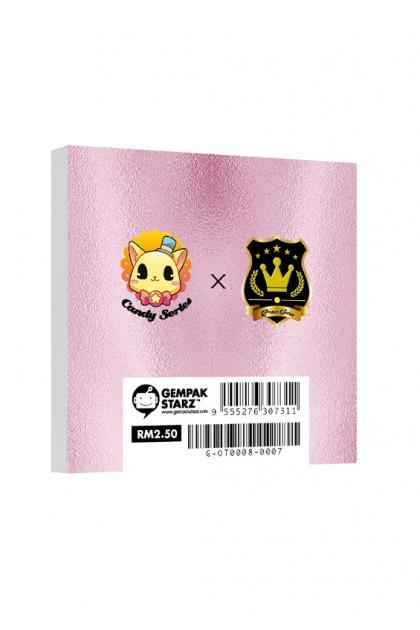 Candy X Prince Series Metalised Memopad