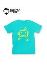 T-SHIRT - STARZ: PIXEL (GREEN)