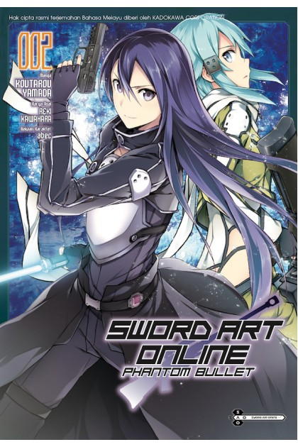 Sword Art Online: Phantom Bullet 02 (Malay)