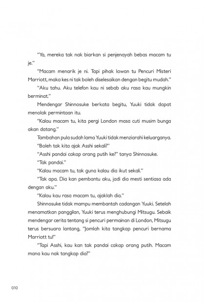 Pejabat Penyiasat Kelas 2-A 06: Tewaskan Pencuri Misteri di London!
