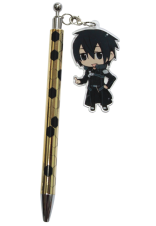 "Sword Art Online Pen with an Acrylic Charm"" Kirito"""