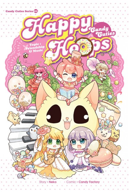 Candy Cuties Series 01: Happy Hoops Topic: Friendship & Music