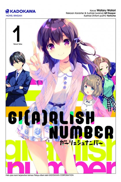 GI(A)RLISH NUMBER 01