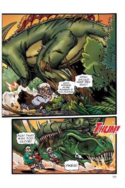 X-VENTURE Dinosaur Kingdom Titans 01: Conquest