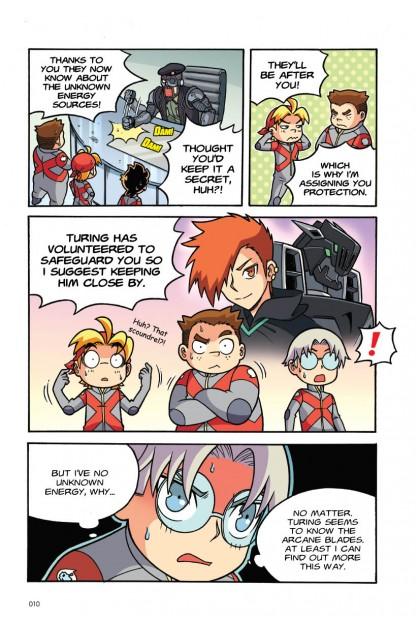 X-VENTURE Exobot Academy 07: The Phantom Terror