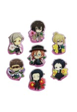 BUNGO STRAY DOGS CLEAR CLIPS BADGE HARU NO HANA
