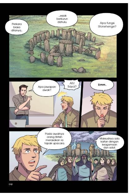 Fail Enigma-X 06: Stonehenge X Pulau Easter