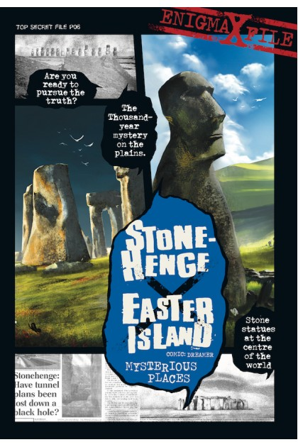 Enigma-X File 06: Stonehenge X Easter Island Mysterious Places